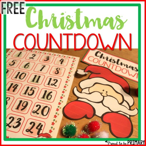 free Christmas holiday countdown