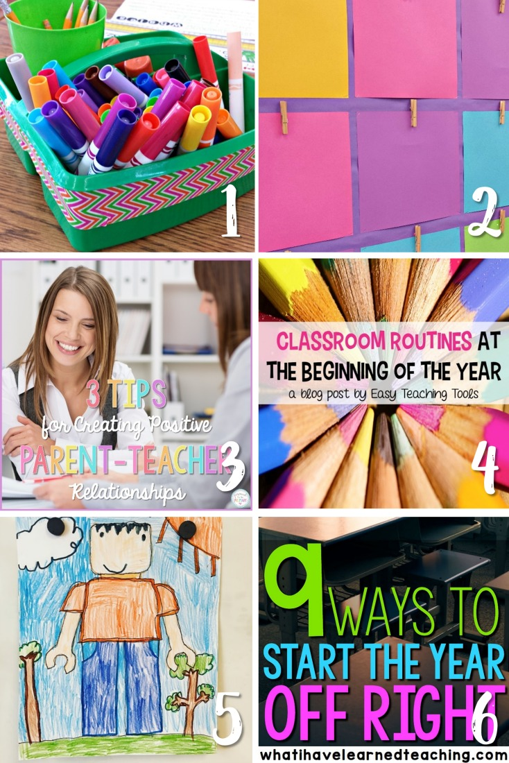 back to school ideas and ways to start the year right