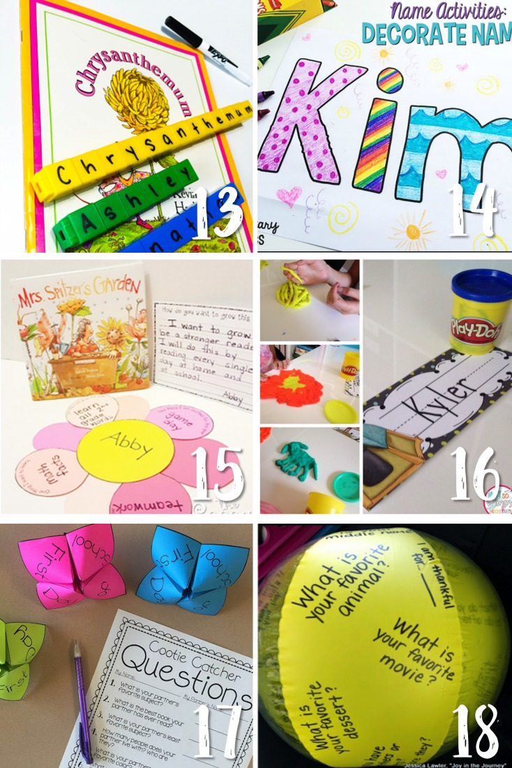 back to school ideas and activities that work