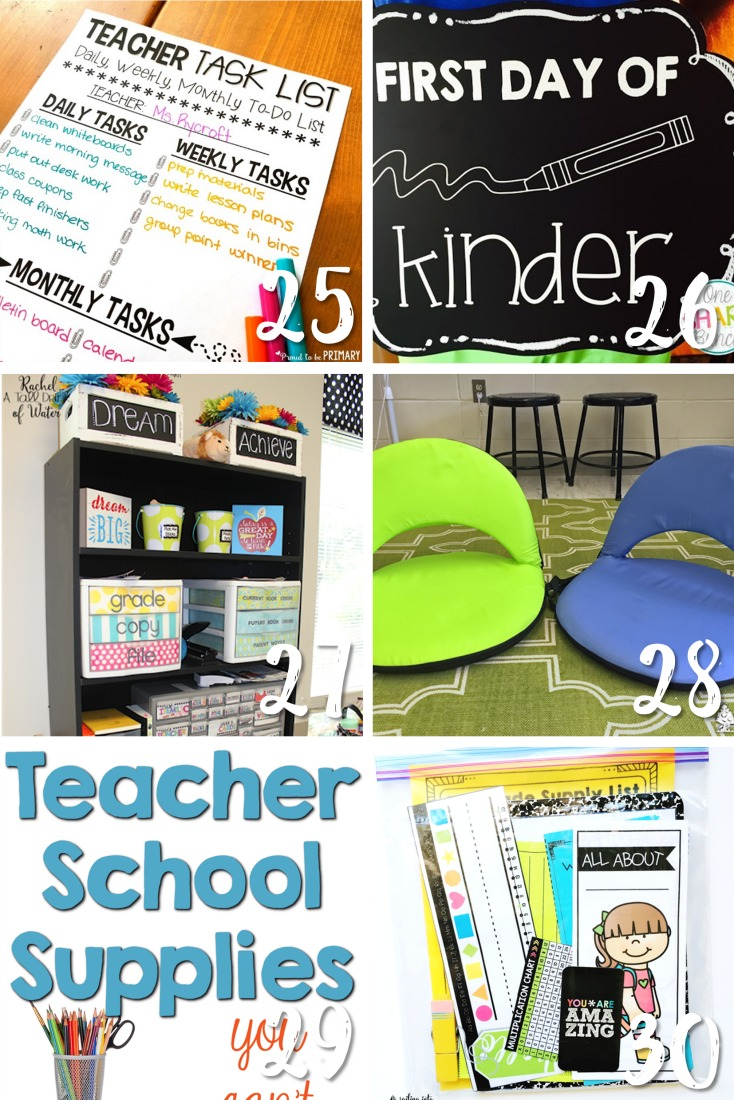back to school ideas for classroom organization