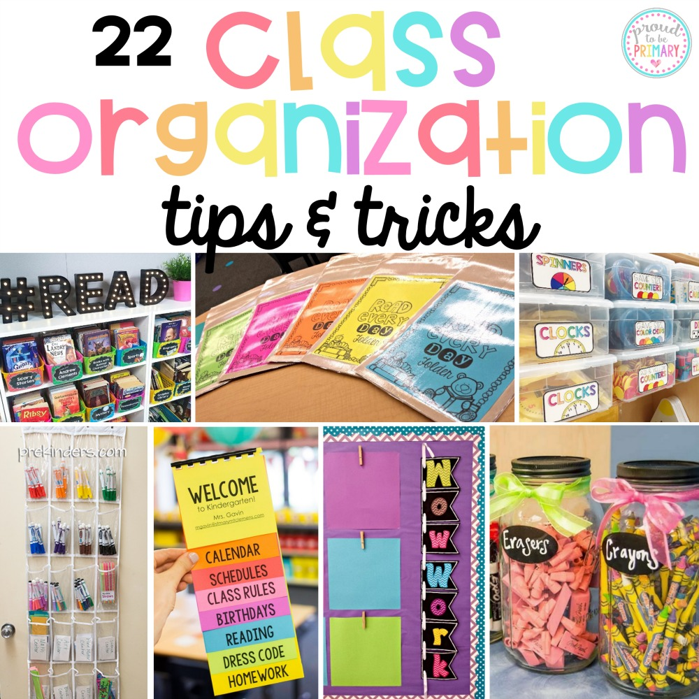 classroom organization ideas tips and tricks
