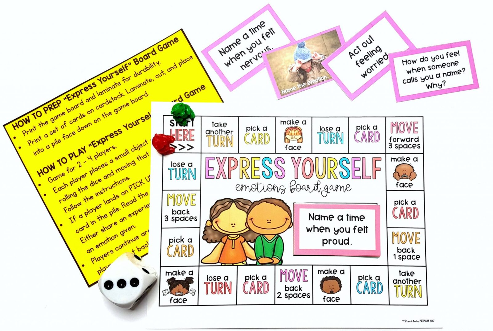 printables and lessons - community building activities