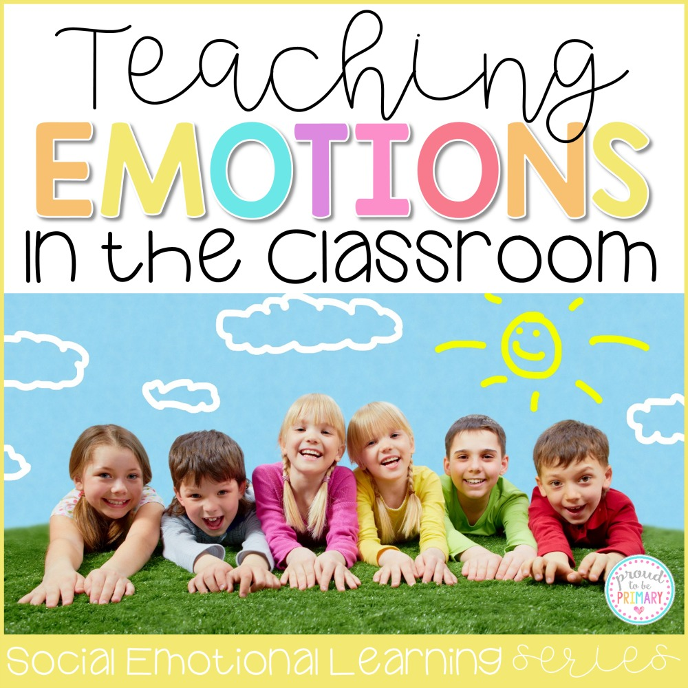 Teach children about emotions with activities to identify, express, and manage their feelings appropriately in school. This is a powerful step towards self-regulation, self-control, and a positive mindset. #emotions #classroommanagement #teacherfreebie #socialresponsibility #socialemotionallearning