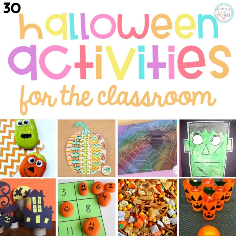 30 Halloween Activities for the Classroom