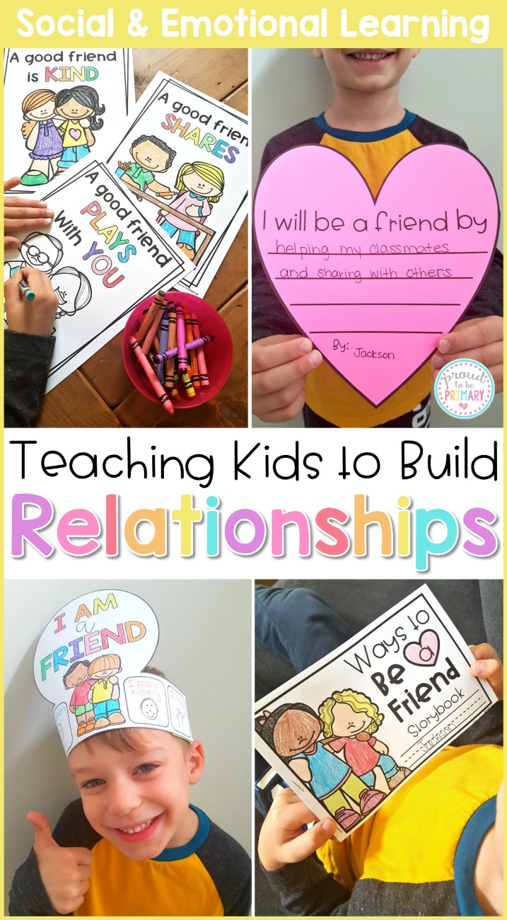 friendship activities - relationships curriculum