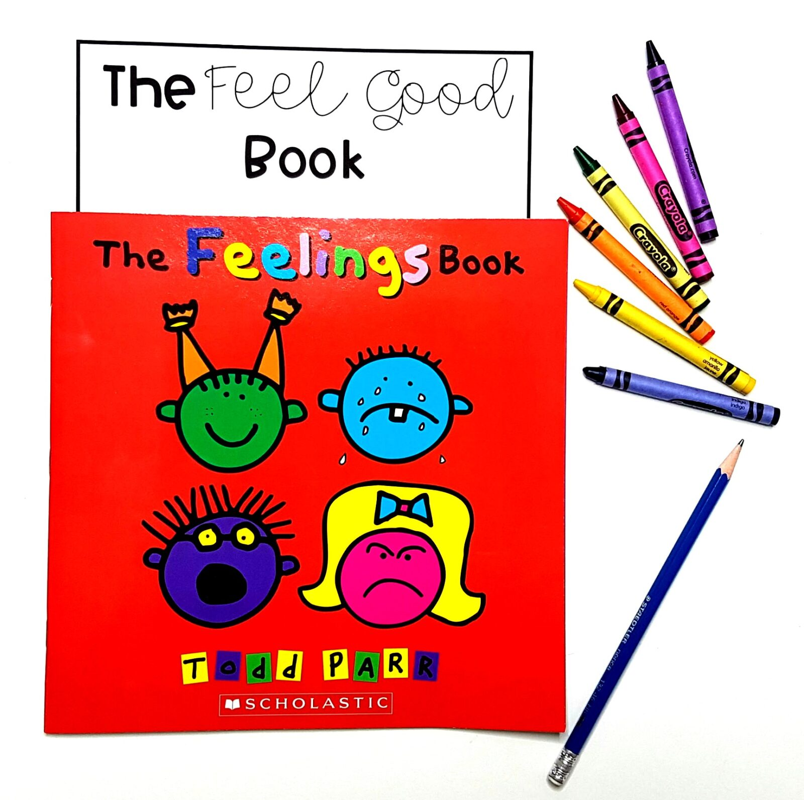 15 emotions books and videos for the classroom to teach kids to understand their emotions and express them appropriately. Teachers can use these emotions books and videos during social-emotional learning lessons and activities with kids. #booksaboutfeelings #socialemotionallearning #charactereducation #booksforkids #videosforkids #emotionsactivities