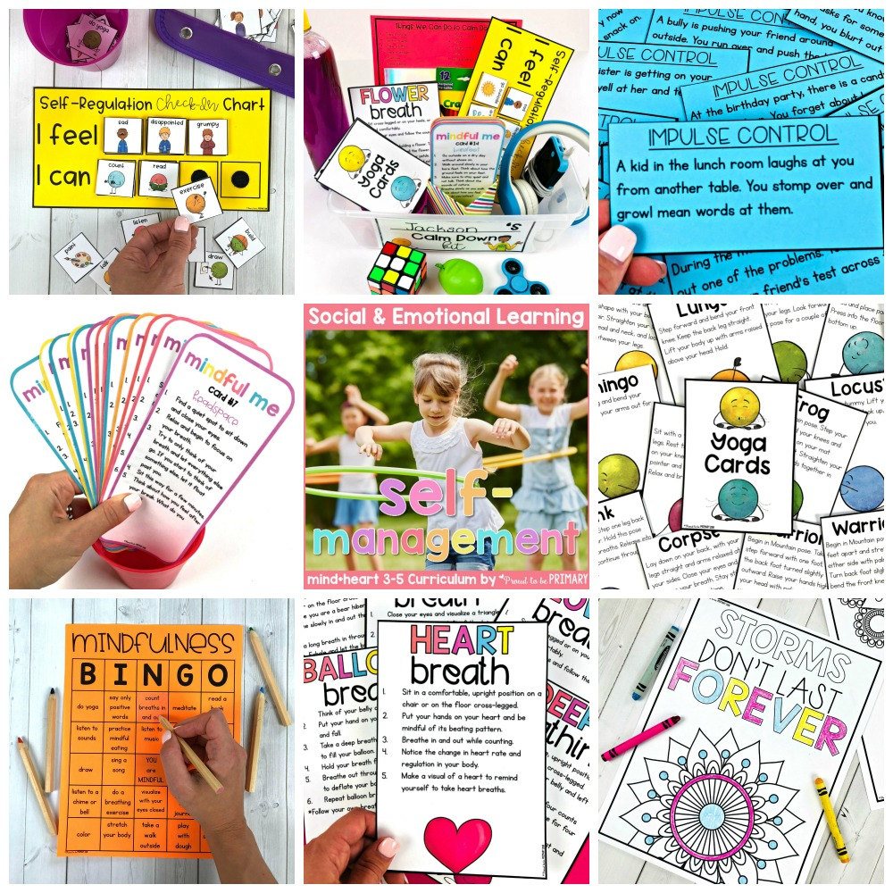 self-management unit for 3-5 from proud to be primary