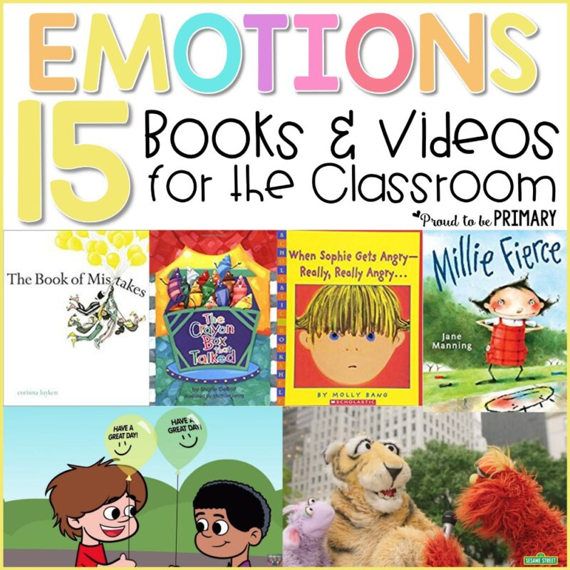 Emotions Books and Videos for the Classroom