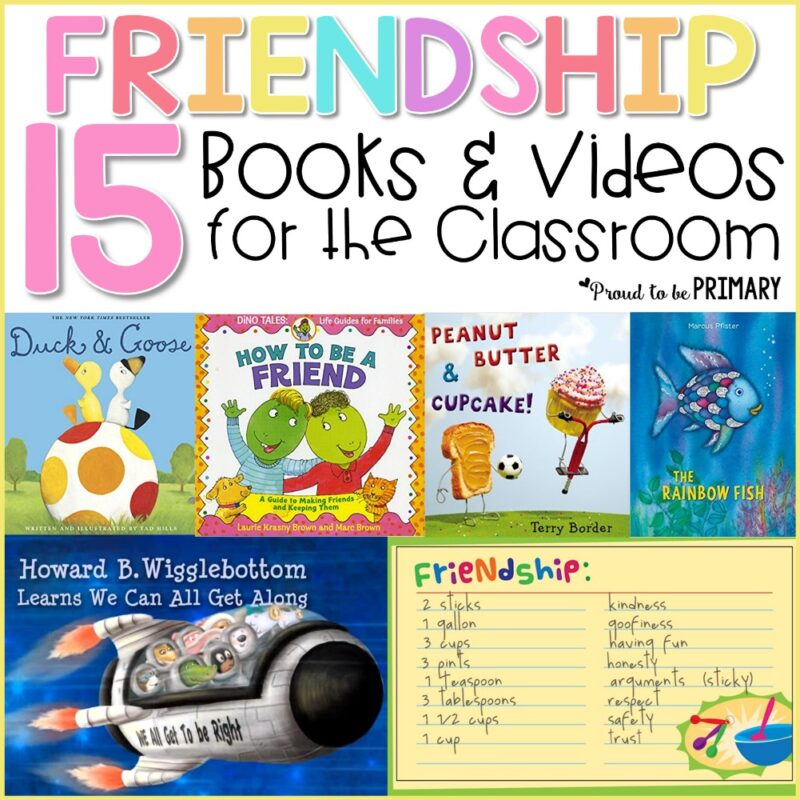 Friendship Books and Videos for the Classroom