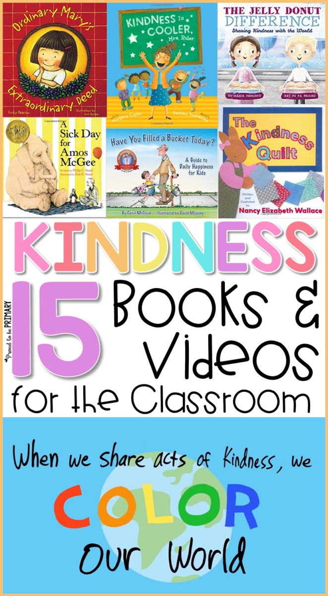 kindness books and videos for the classroom