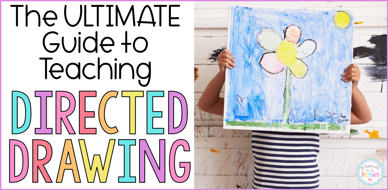 The ultimate guide to teaching directed drawing to children in the classroom.