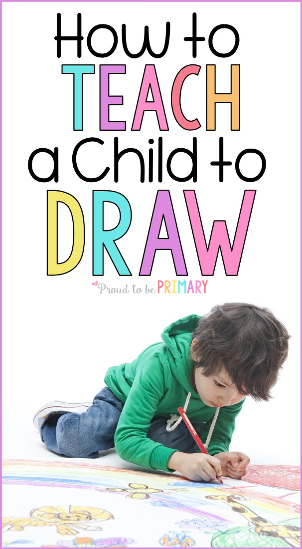 a child learning how to draw is drawing and coloring a picture on the floor