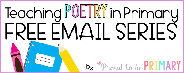 teaching poetry in primary free email series