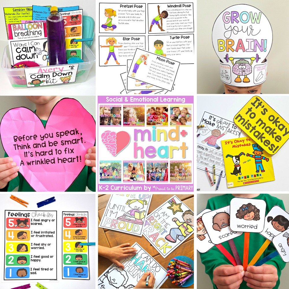 resources for social emotional learning - mind+heart social emotional learning curriculum