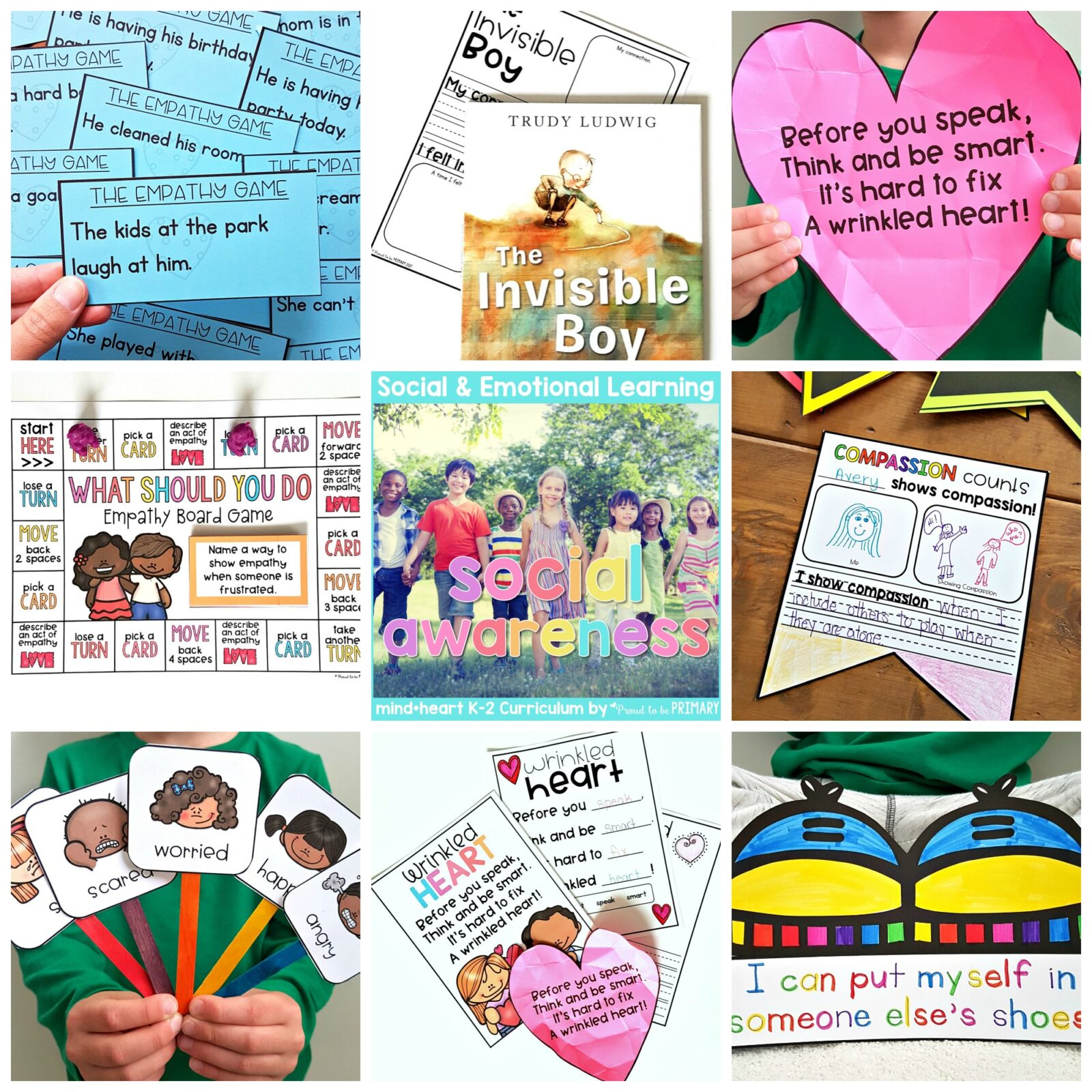 empathy and social awareness activities and lessons unit for teachers