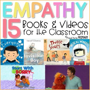 empathy books and videos for the classroom