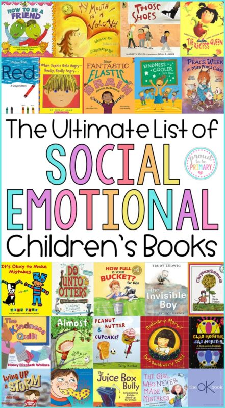 children's social-emotional learning books