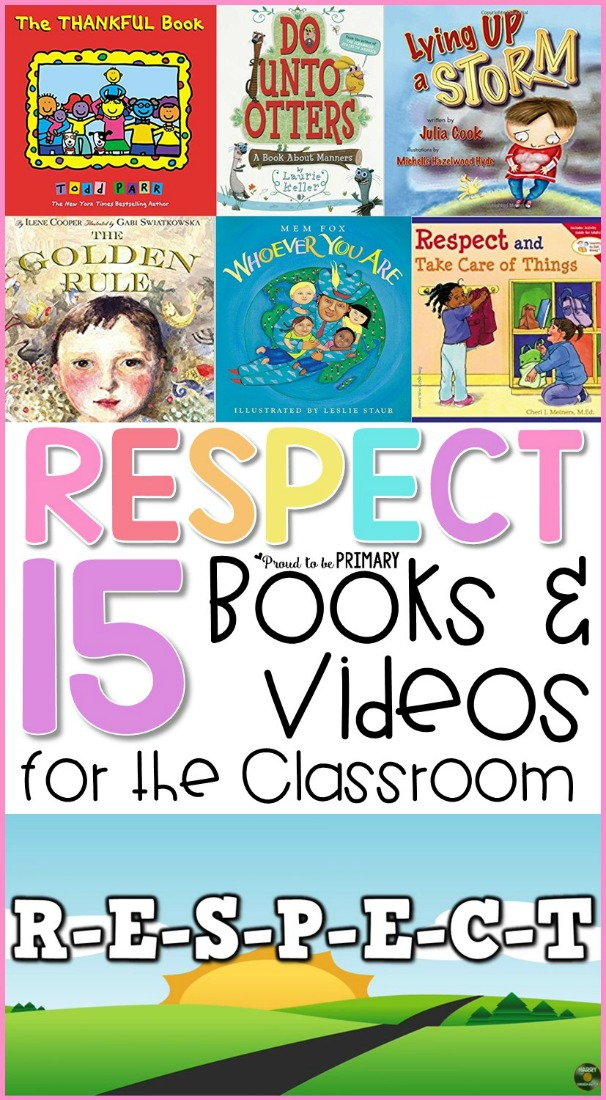 15 respect books and videos for the classroom