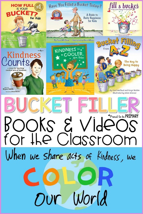 buket filler books and videos for the classroom collage image