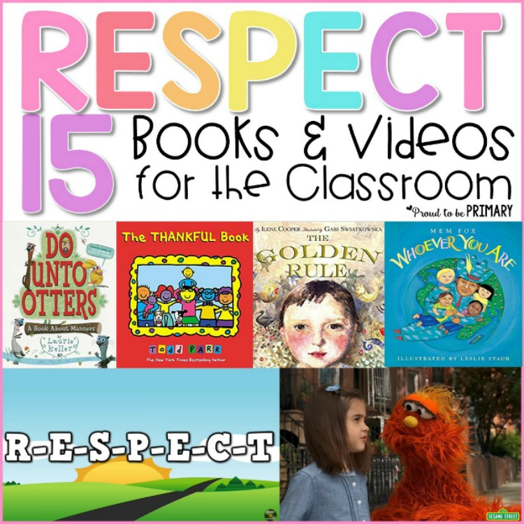 Respect Activities including 15 respect books and videos for kids