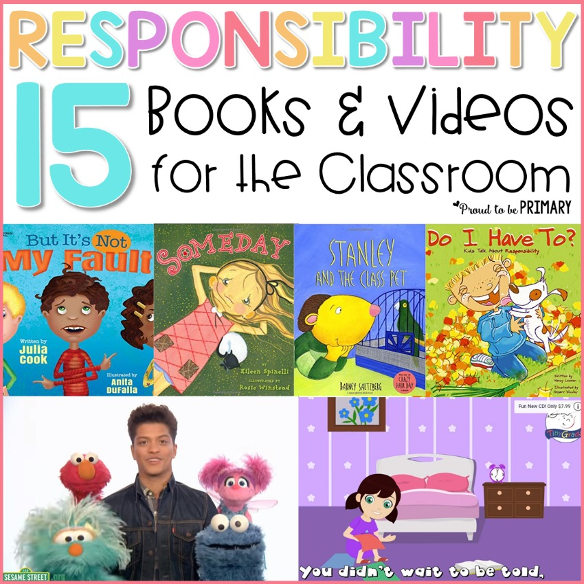 responsibility books and videos