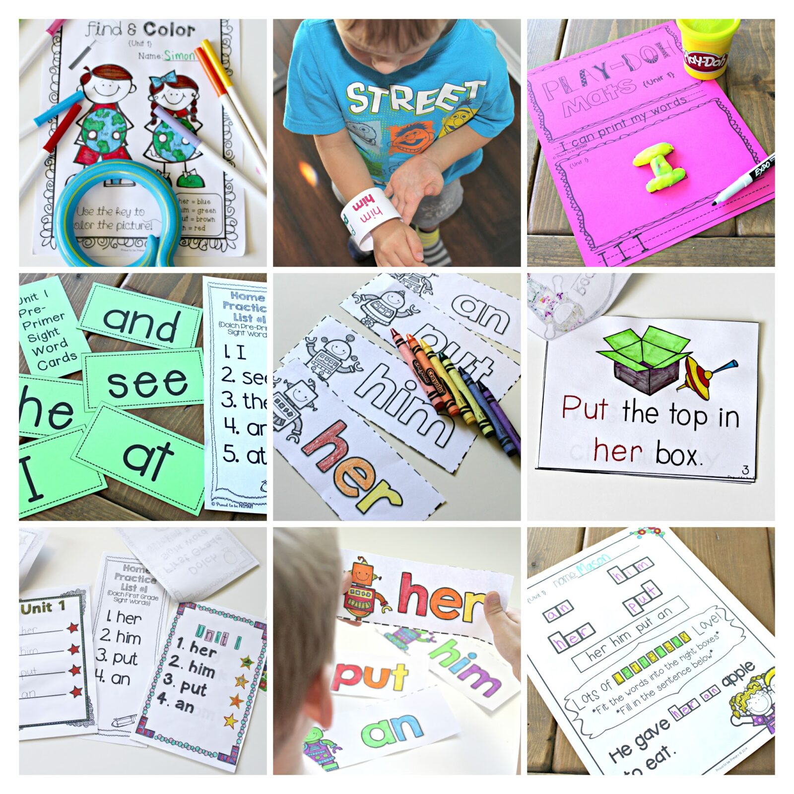 dolch sight words program for kids
