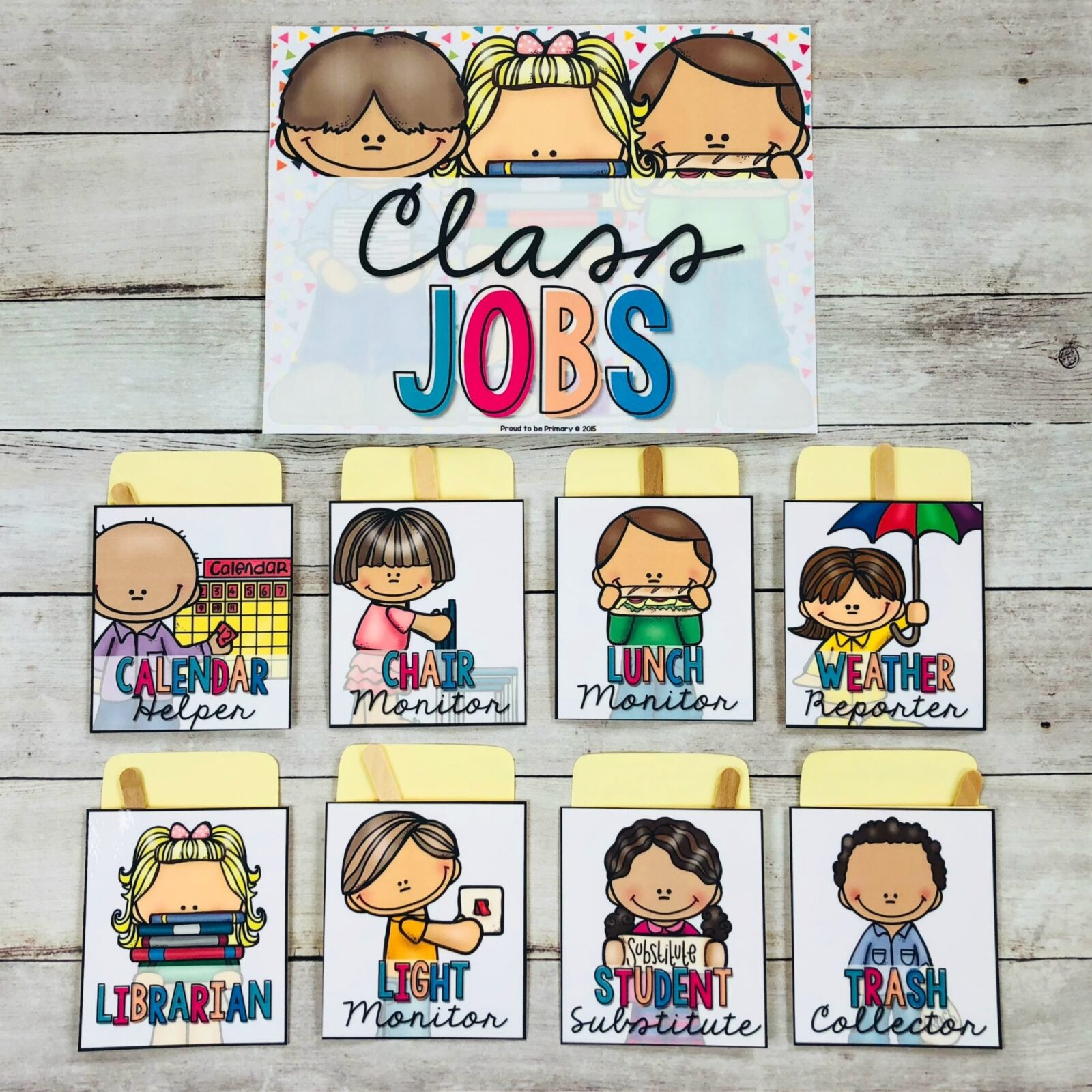 classroom jobs as management tool