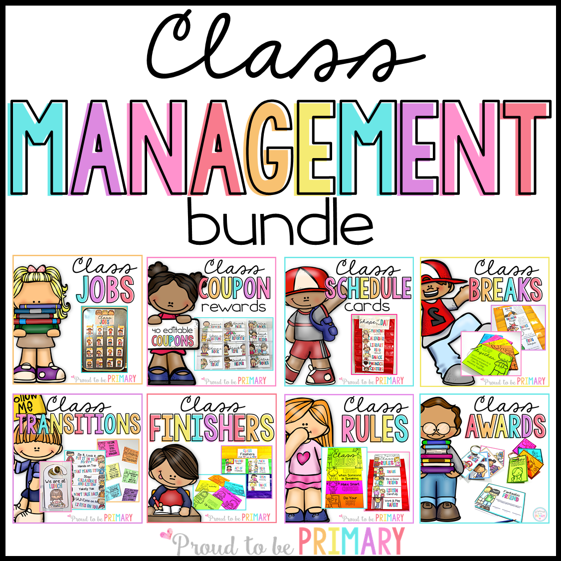 classroom management resource bundle