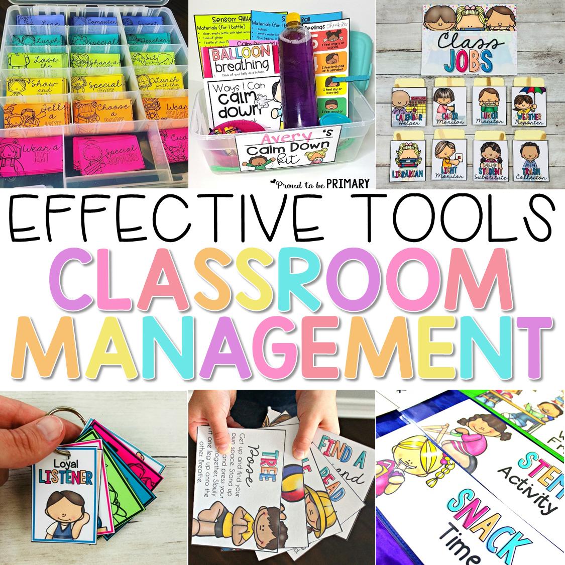classroom management tools header