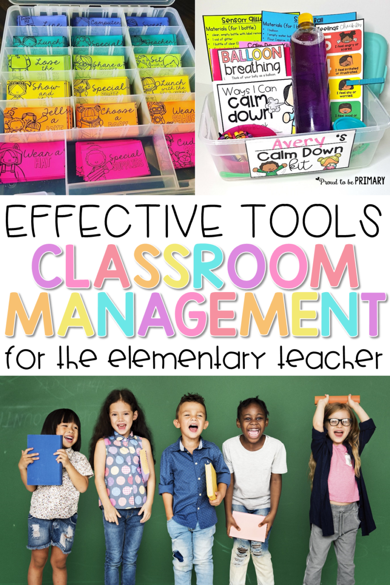 classroom management tools for the elementary classroom