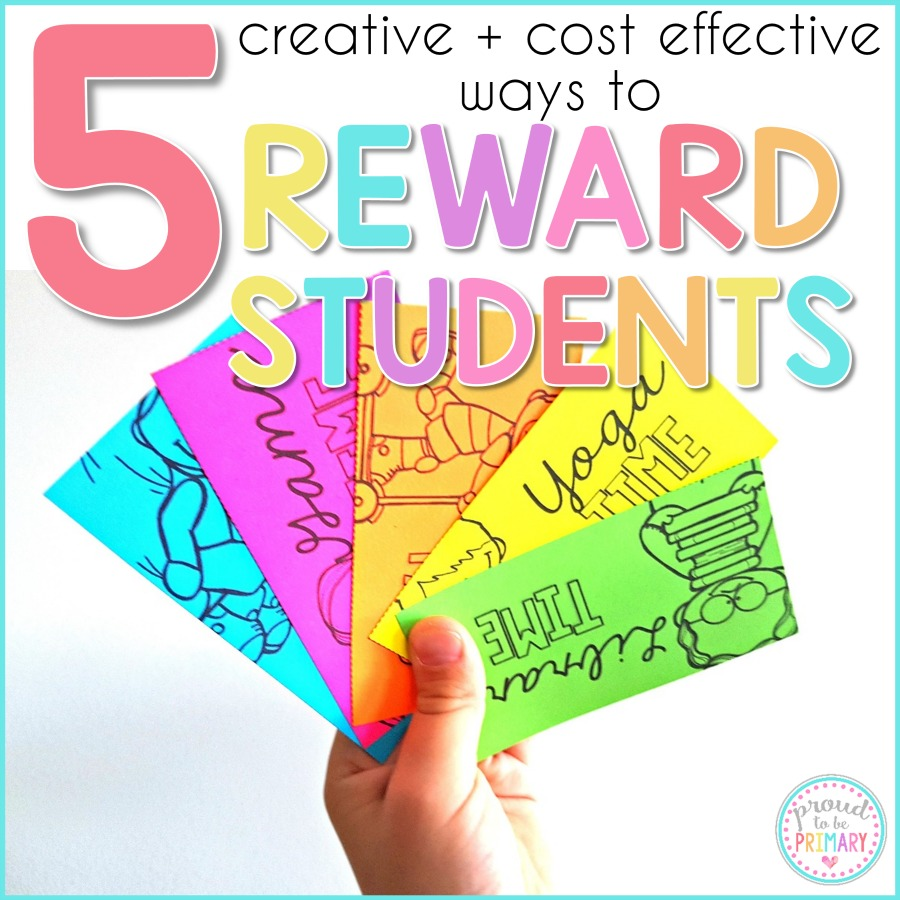 classroom rewards for kids