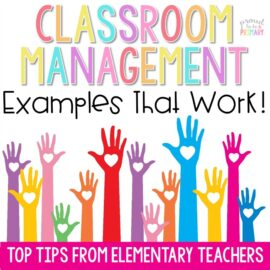 classroom management examples