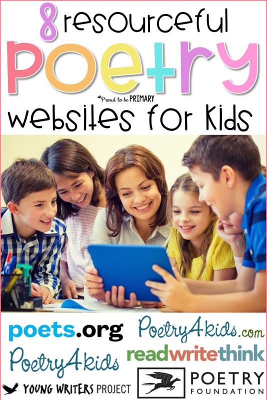poetry websites for kids