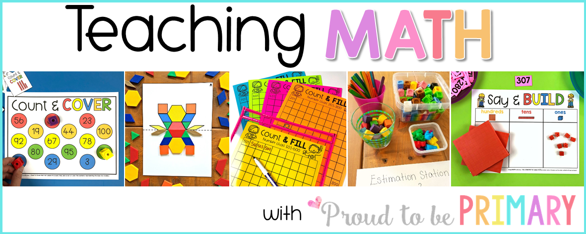 math Archives – Proud to be Primary