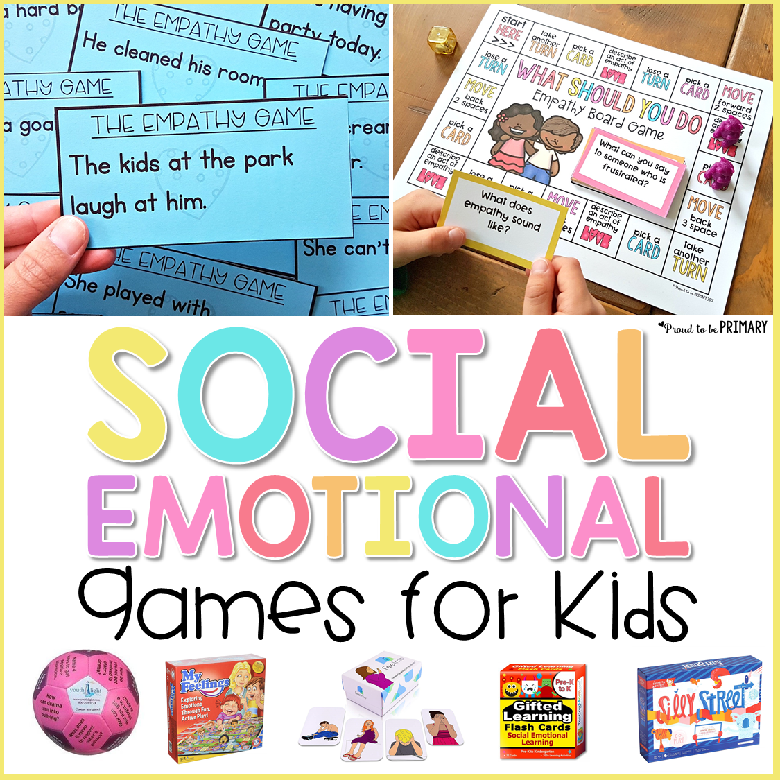 16 Social-Emotional Learning Games for Kids - Proud to be ...