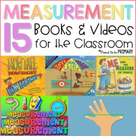 teaching measurement books and videos