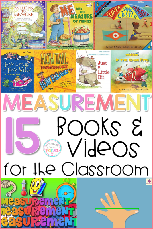 teaching measurement books and videos for kids