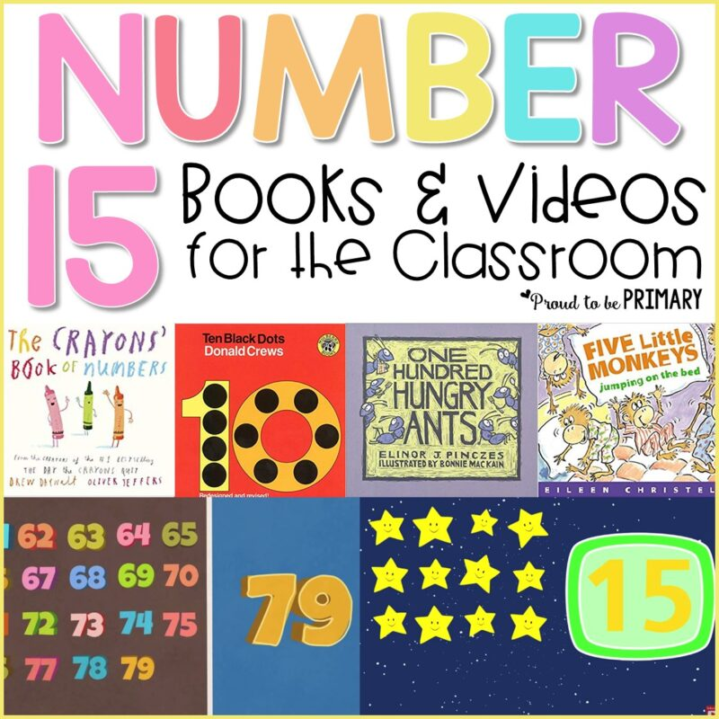 teaching numbers books and videos