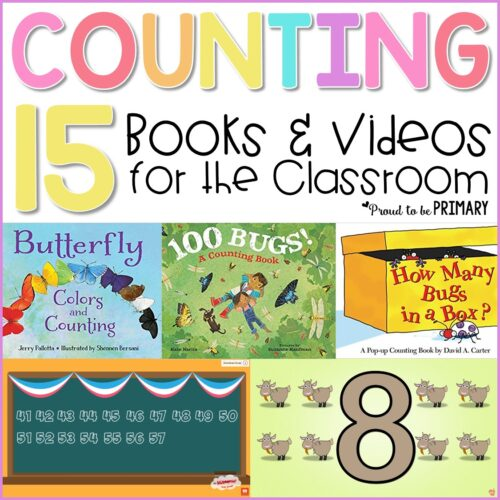 counting books and videos