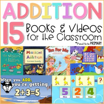 15 addition strategies books and videos