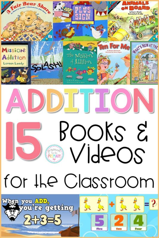 15 addition strategies books and videos for the classroom