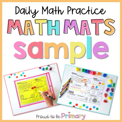 math mats sample