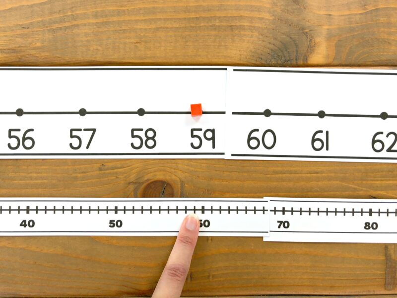 number line to 100