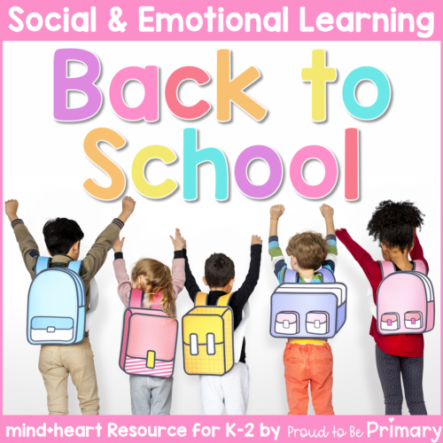 SEL back to school resource for K-2