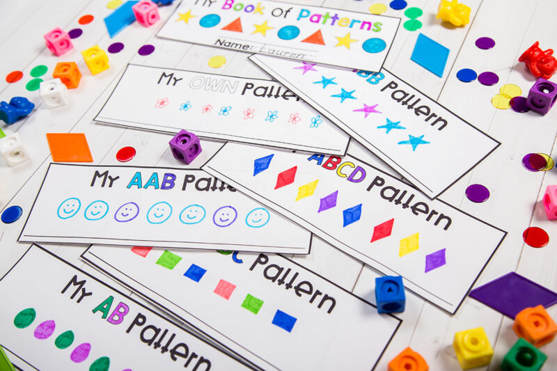 create a collection of patterns in a booklet
