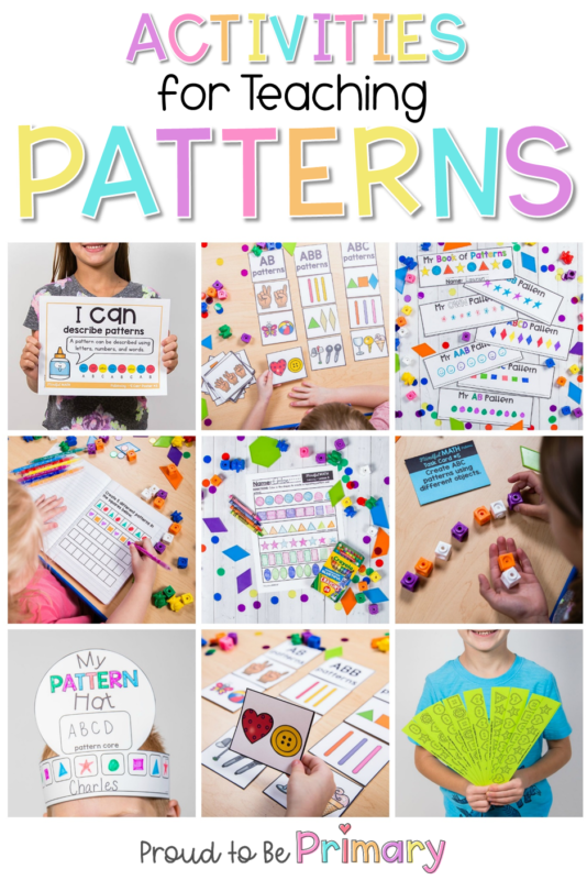 pattern activities pin