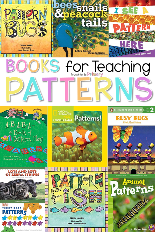 books for teaching patterns