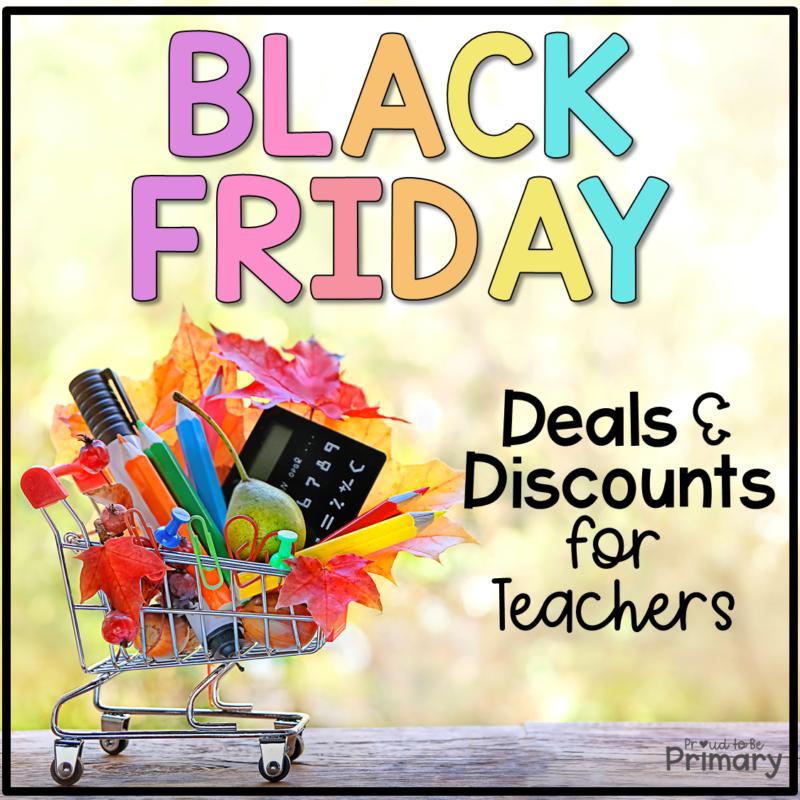 black friday teacher deals and discounts