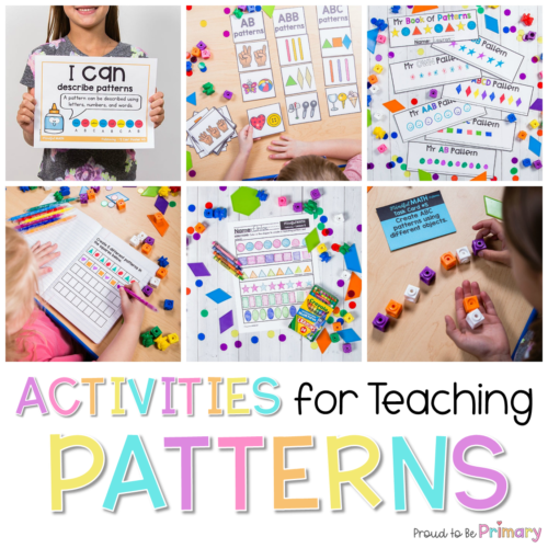 pattern activities for kids header