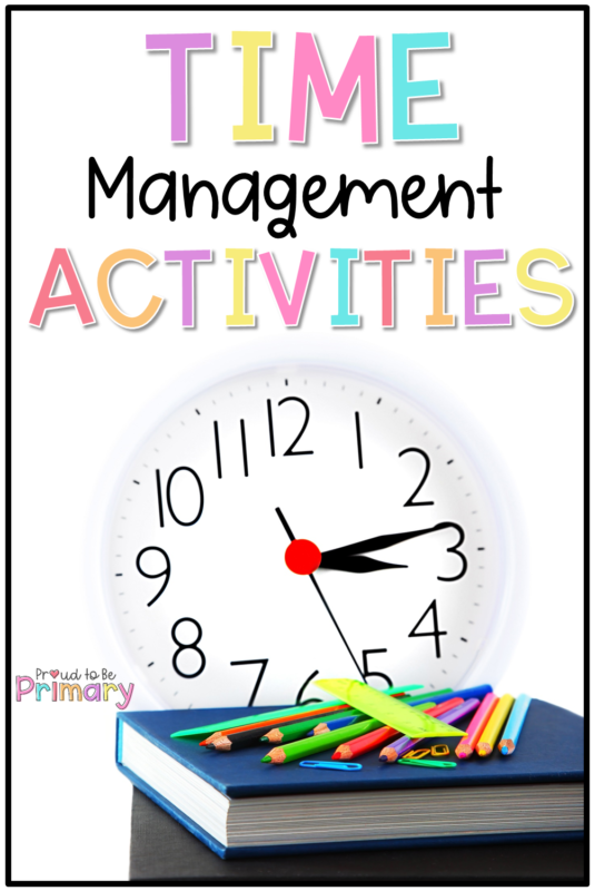 time management activities for students and teachers